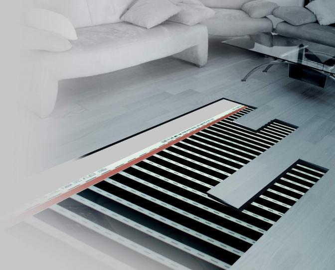 Laminaat Slaapkamer Koud : Heatfolie laminaat 42V systeem - Heatel